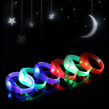TPU Material Led Flashing Lights Electronic Bracelet