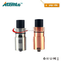 DHLFree Shipping high quality rebuildable atomizer 3 posts 22mm RDA yep rda clone
