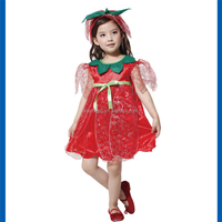 2015 china wholesale kids rose fairy clothing halloween costume