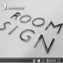 OEM holiday or party decoration small alphabet metal 3d stainless steel individual letter sign