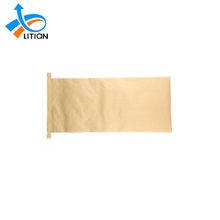 High quality feed packaging eco friendly seal Kraft cheap paper bags
