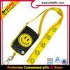 Awesome lanyards cheap custom cell phone strap with keyring