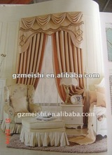 classic and elegant design curtain/europe style
