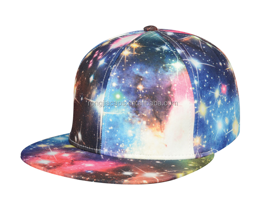 5 panel sublimation snapback hats