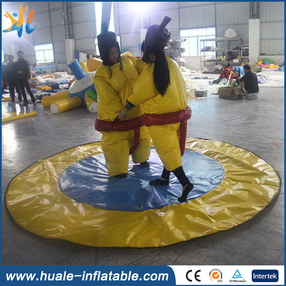 Popular Sports Game inflatable sumo wrestling sults