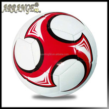 Creative gift Official size five leather red pattern printing best football