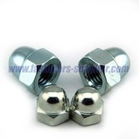 Din 1587 stainless steel hex head domed nut China manufacturer
