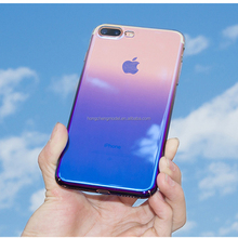 Gradient Colorful Hard protect Phone Shell Luxury Optical Electro-Plated PC Case for xiaomi redmi 5 5 plus mi 7