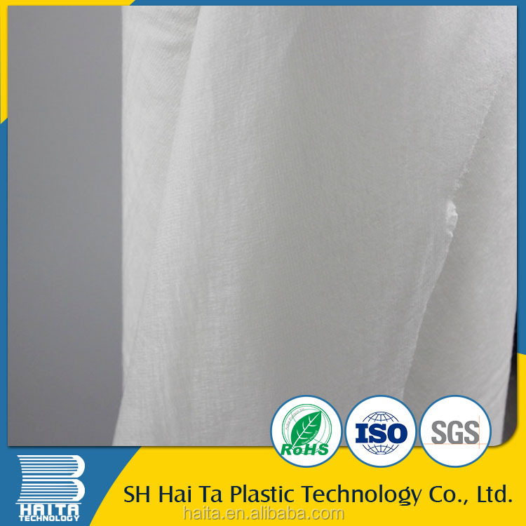 Cheap PVA cold water soluble non woven paper for embroidery backing