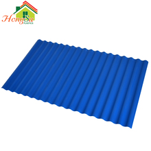 Excellent weather resistant performance APVC corrugated plastic blue roof tile/UPVC bule plastic tile roof