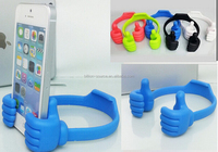 Universal Cute Thumb Up stand Plastic Smartphone Tablet Holder for any Mobile phone