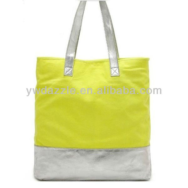 2015 fashion cotton bags thailand with handles