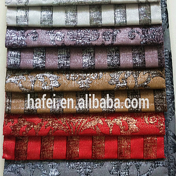 Popular best sell jacquard fabric chenille