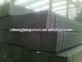 Black Square Steel Pipe with high Quality and lower price
