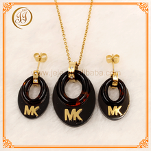 Bulk Sale Amber Ladies Accessories Beautiful Wedding Jewelry Sets