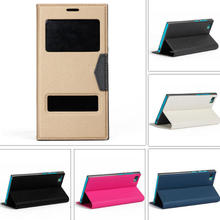 Cell Phone Leather Flip Cover for Xiaomi M3 Note with Stand, Flip Phone Case for Xiaomi M3