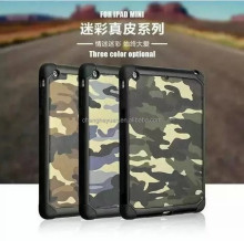 for tablet pc hybrid camouflage pc tpu protective case cover for ipad mini 1 2 3