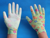 work gloves ce proved nitrile coated women garden gloves
