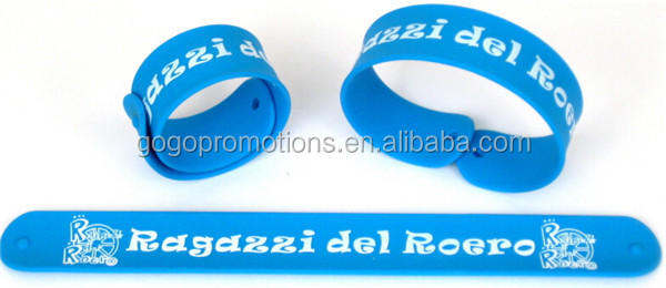 Silicone rolling slap band ruler for children