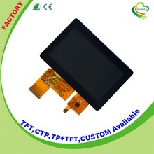 LCD + CTP wholesale 4.3 inch interactive touch tft screen
