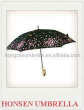 good quality China manufacturing company customized advertising straight rain umbrella for sale Honsen