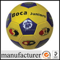 GY-B364 wholesale cheap PVC custom print star face photo soccer ball/football for promotion