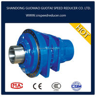 High power single stage transmission hydraulic motor planetary gearbox