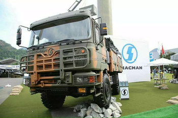 Shacman military trucks china sole military equippments supplier