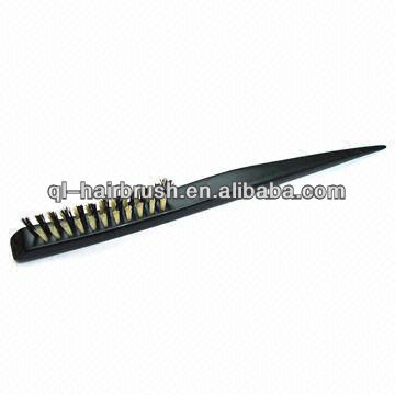 2013 new style Perfect Professional boar bristle mixed nylon style hair brush