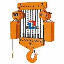 Custom Made Weight Lifting Electric Hoist with Rope Suspended Platform