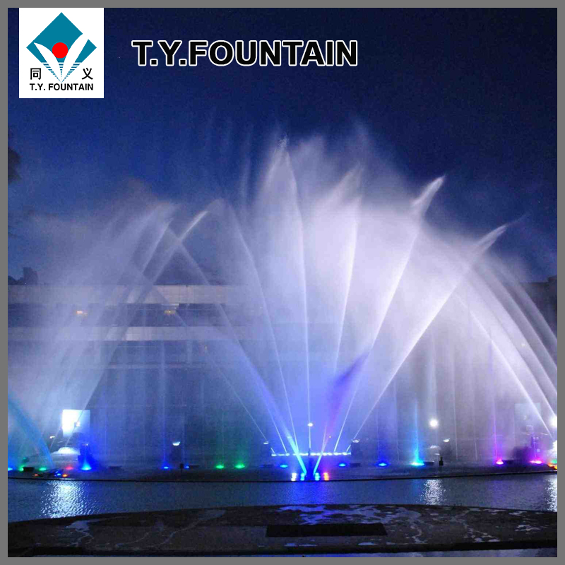 Multimedia outdoor led water dancing fountain