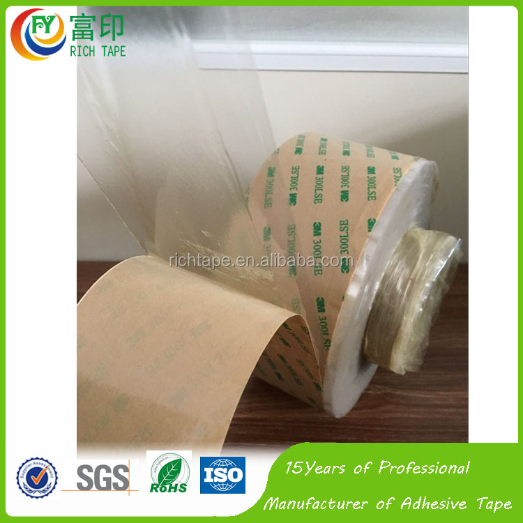 3M Double Sided PET Tape Acrylic Silicone Adhesive 0.1mm Thickness Tape