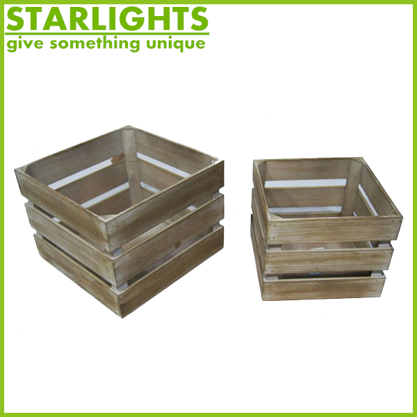 High quality beast sell fruit crate with handle for sale