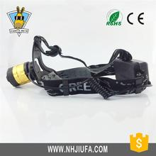 Top Quality Promotion Custom Aluminum Alloy usb rechargeable light super bright led headlamp