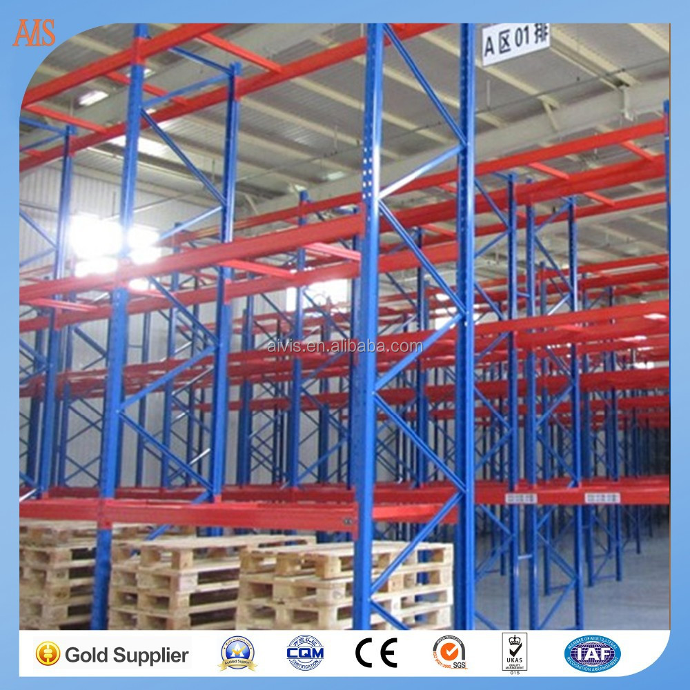 china wholesale hot sale warehouse metal heavy duty pallet rack