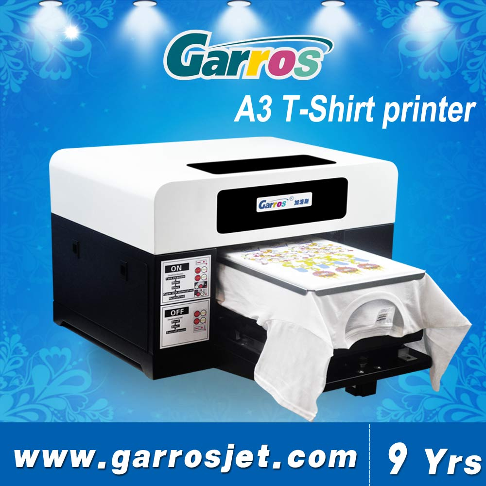 Garros ts3042 2016 top quality t shirt printing machine for Best quality shirts to print on