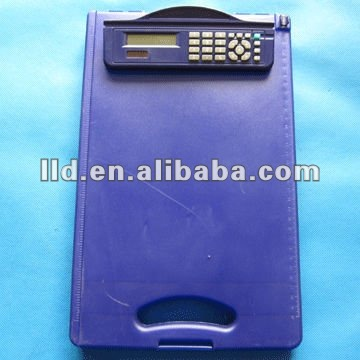 Storage clipboard with calculator,engineering calculator,plastic clipboard with calculator