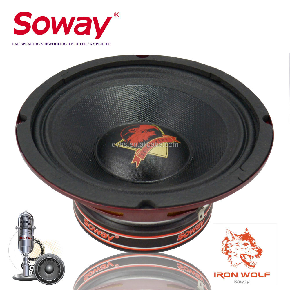 Soway high quality 6.5inch 35mm voice coil SW-6.5R mid-bass loudspeaker