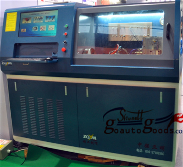 ZQYM 718 CR injector tester vp44 HEUI tester common rail injector test bench for , Denso, Siemens injector