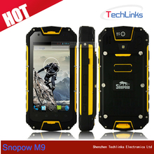 Original Snopow M9 2GB RAM 16GB ROM Quad Core Android Waterproof Rugged Cell Phone