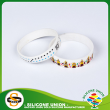 Adorable bulk silicone wristbands colorful for men