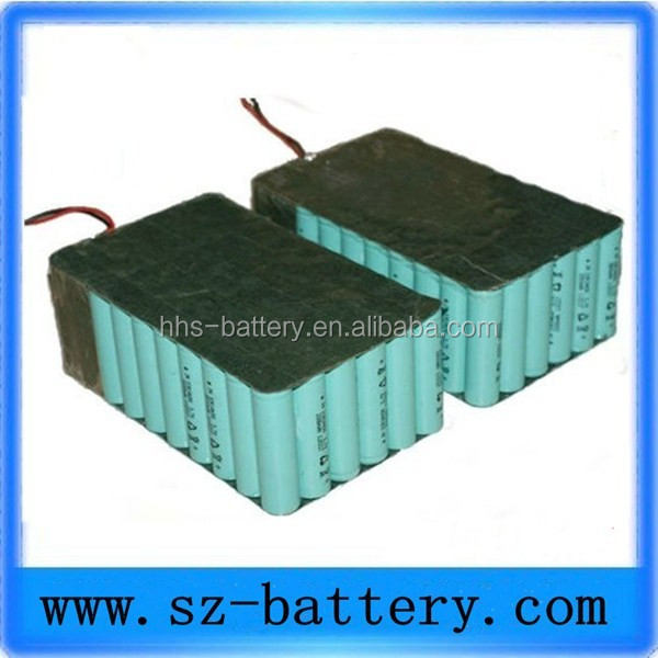 High Quality Custom Lithium Polymer Battery 12s Rechargeable 44.4v 14ah Lipo Battery