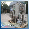 Black Engine Oil Regeneration Purifier / Motor Oil Recycling Machine with CE