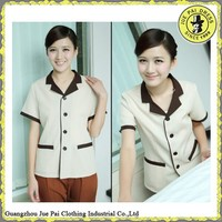 Tailored made workwear hotel cleaning staff uniform