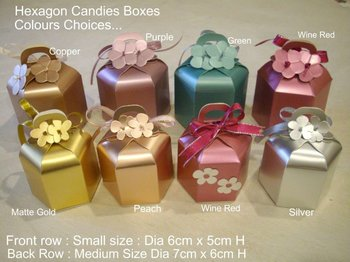 Beautiful Wedding Door Gift Boxes