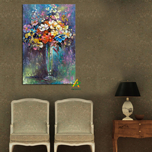Wholesale Canvas Painting Print On Canvas Flower Painting home goods Wall Art For home Decoration