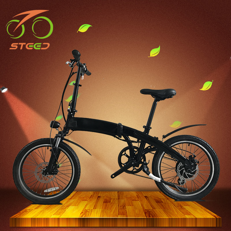 250W super pocket israel electric folding bike with EN15194