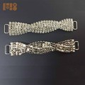 Hot sale crystal rhinestone connector for bikini accessories