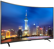32'/40''/ 42'' /43''' /55''LED TV curved Screen High Quality Black Color Kitchen TV Low price
