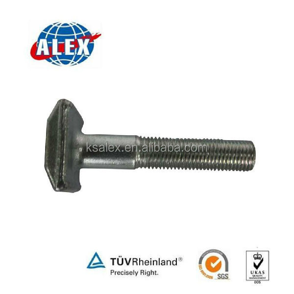 Railway Bolt with Nut and Washer, Bolt with Nut and Washer Grade 8.8, Bolt with Nut and Washer Supplier China